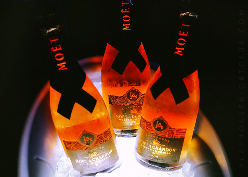 Moet Nectar Imperial Rosé City Bottle Experience