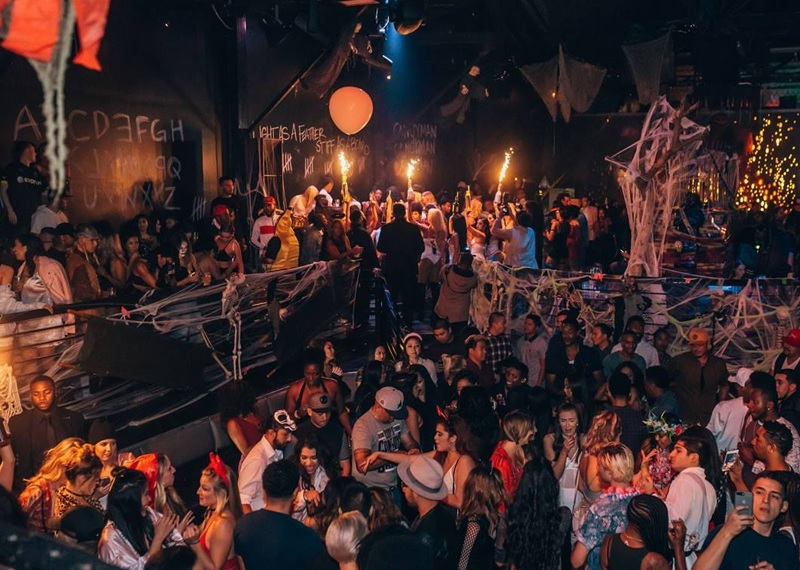 Playhouse Best Halloween Night Club