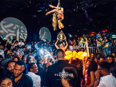 VIP Aerial Champagne Service at Playhouse Los Angeles