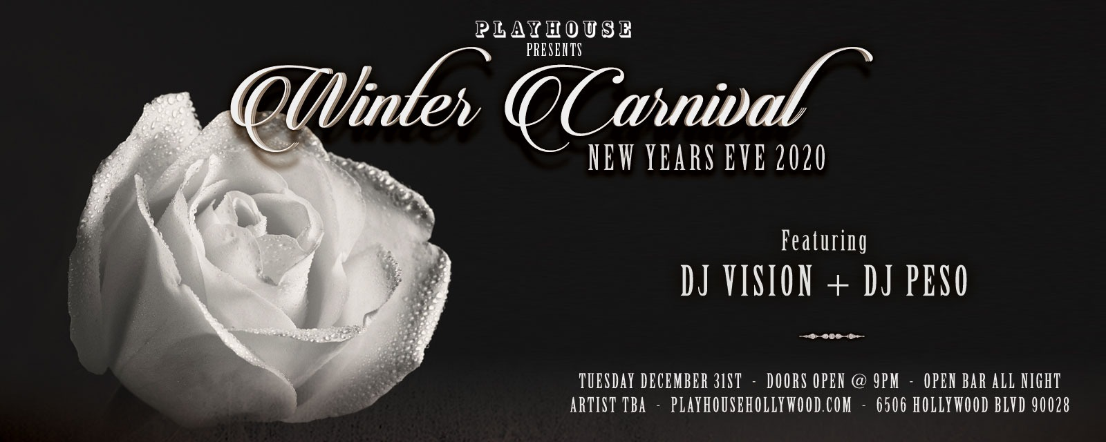 Playhouse Hollywood New Years 2020 Tickets